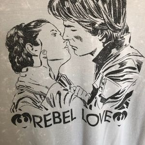 Star Wars Rebel Love Tee